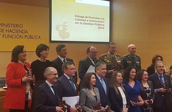 El servicio de inspección SOIVRE recibe el Premio a la Innovación en la Gestión Pública